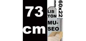 LISTÓN MUSEO (60 X 22) - 73 CM