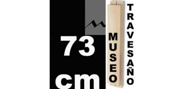 TRAVESAÑO MUSEO (60 X 22) - 73 CM