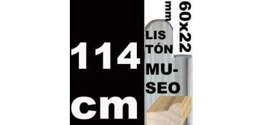 LISTÓN MUSEO (60 X 22) - 114 CM