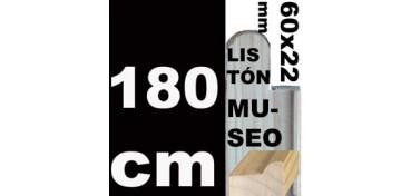 LISTÓN MUSEO (60 X 22) - 180 CM