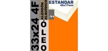 BASTIDOR ESTUDIO 46 X 17 ALGODÓN Nº2 (GRANO FINO) 33 X 24 4F (ÓLEO)