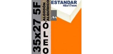 BASTIDOR ESTUDIO 46 X 17 ALGODÓN Nº2 (GRANO FINO) 35 X 27 5F (ÓLEO)