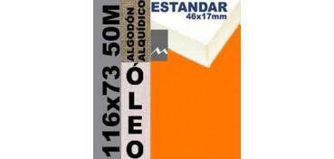 BASTIDOR ESTUDIO 46 X 17 ALGODÓN Nº2 (GRANO FINO) 116 X 73 50M (ÓLEO)