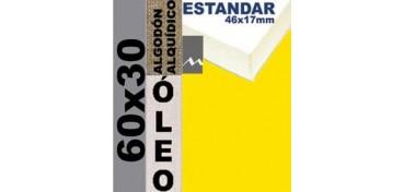 BASTIDOR ESTUDIO 46 X 17 ALGODÓN Nº2 (GRANO FINO) 60 X 30 (ÓLEO)