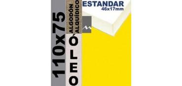 BASTIDOR ESTUDIO 46 X 17 ALGODÓN Nº2 (GRANO FINO) 110 X 75 (ÓLEO)