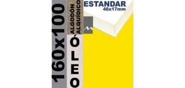BASTIDOR ESTUDIO 46 X 17 ALGODÓN Nº2 (GRANO FINO) 160 X 100 (ÓLEO)