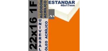 BASTIDOR ESTUDIO 46 X 17 ALGODÓN Nº2 (GRANO FINO) 22 X 16 1F (ÓLEO/ACRÍLICO)