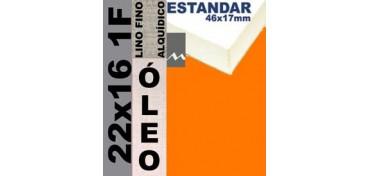 BASTIDOR ESTUDIO 46 X 17 LINO Nº1 (GRANO FINO) 22 X 16 1F (ÓLEO)