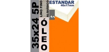BASTIDOR ESTUDIO 46 X 17 LINO Nº1 (GRANO FINO) 35 X 24 5P (ÓLEO)