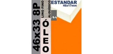 BASTIDOR ESTUDIO 46 X 17 LINO Nº1 (GRANO FINO) 46 X 33 8P (ÓLEO)