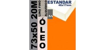 BASTIDOR ESTUDIO 46 X 17 LINO Nº1 (GRANO FINO) 73 X 50 20M (ÓLEO)