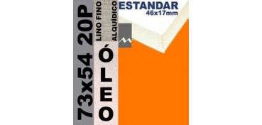 BASTIDOR ESTUDIO 46 X 17 LINO Nº1 (GRANO FINO) 73 X 54 20P (ÓLEO)