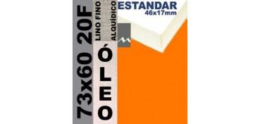 BASTIDOR ESTUDIO 46 X 17 LINO Nº1 (GRANO FINO) 73 X 60 20F (ÓLEO)