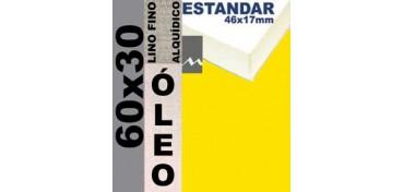 BASTIDOR ESTUDIO 46 X 17 LINO Nº1 (GRANO FINO) 60 X 30 (ÓLEO)