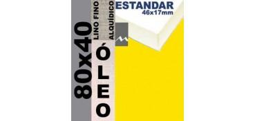 BASTIDOR ESTUDIO 46 X 17 LINO Nº1 (GRANO FINO) 80 X 40 (ÓLEO)