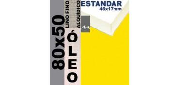 BASTIDOR ESTUDIO 46 X 17 LINO Nº1 (GRANO FINO) 80 X 50 (ÓLEO)