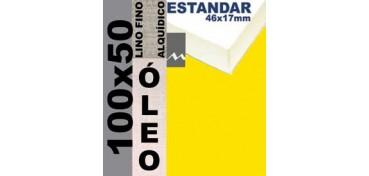 BASTIDOR ESTUDIO 46 X 17 LINO Nº1 (GRANO FINO) 100 X 50 (ÓLEO)