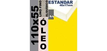 BASTIDOR ESTUDIO 46 X 17 LINO Nº1 (GRANO FINO) 110 X 55 (ÓLEO)