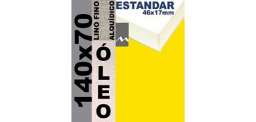 BASTIDOR ESTUDIO 46 X 17 LINO Nº1 (GRANO FINO) 140 X 70 (ÓLEO)