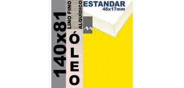 BASTIDOR ESTUDIO 46 X 17 LINO Nº1 (GRANO FINO) 140 X 81 (ÓLEO)