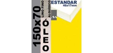 BASTIDOR ESTUDIO 46 X 17 LINO Nº1 (GRANO FINO) 150 X 70 (ÓLEO)