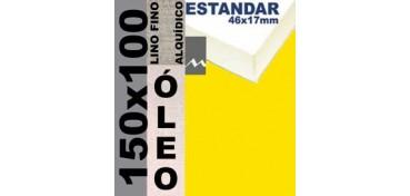 BASTIDOR ESTUDIO 46 X 17 LINO Nº1 (GRANO FINO) 150 X 100 (ÓLEO)
