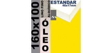 BASTIDOR ESTUDIO 46 X 17 LINO Nº1 (GRANO FINO) 160 X 100 (ÓLEO)