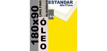BASTIDOR ESTUDIO 46 X 17 LINO Nº1 (GRANO FINO) 180 X 90 (ÓLEO)