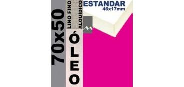 BASTIDOR ESTUDIO 46 X 17 LINO Nº1 (GRANO FINO) 70 X 50 (ÓLEO)