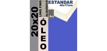 BASTIDOR ESTUDIO 46 X 17 LINO Nº1 (GRANO FINO) 20 X 20 (ÓLEO)
