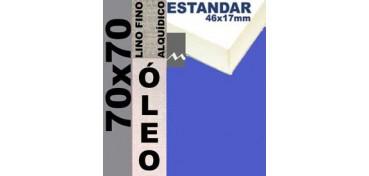 BASTIDOR ESTUDIO 46 X 17 LINO Nº1 (GRANO FINO) 70 X 70 (ÓLEO)