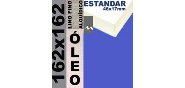 BASTIDOR ESTUDIO 46 X 17 LINO Nº1 (GRANO FINO) 162 X 162(ÓLEO)