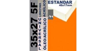 BASTIDOR ESTUDIO 46 X 17 LINO Nº1 (GRANO FINO) 35 X 27 5F (ÓLEO/ACRÍLICO)