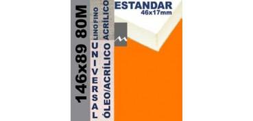 BASTIDOR ESTUDIO 46 X 17 LINO Nº1 (GRANO FINO) 146 X 89 80M (ÓLEO/ACRÍLICO)