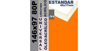 BASTIDOR ESTUDIO 46 X 17 LINO Nº1 (GRANO FINO) 146 X 97 80P (ÓLEO/ACRÍLICO)