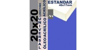 BASTIDOR ESTUDIO 46 X 17 LINO Nº1 (GRANO FINO) 20 X 20 (ÓLEO/ACRÍLICO)