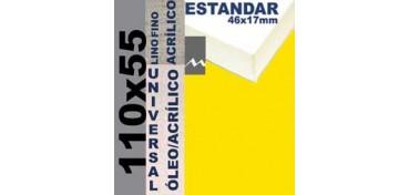 BASTIDOR ESTUDIO 46 X 17 LINO Nº1 (GRANO FINO) 110 X 55 (ÓLEO/ACRÍLICO)