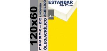BASTIDOR ESTUDIO 46 X 17 LINO Nº1 (GRANO FINO) 120 X 60 (ÓLEO/ACRÍLICO)