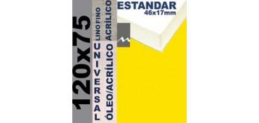 BASTIDOR ESTUDIO 46 X 17 LINO Nº1 (GRANO FINO) 120 X 75 (ÓLEO/ACRÍLICO)