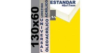 BASTIDOR ESTUDIO 46 X 17 LINO Nº1 (GRANO FINO) 130 X 60 (ÓLEO/ACRÍLICO)