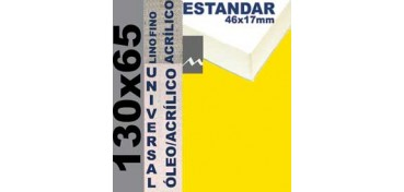 BASTIDOR ESTUDIO 46 X 17 LINO Nº1 (GRANO FINO) 130 X 65 (ÓLEO/ACRÍLICO)