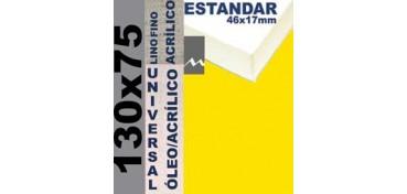 BASTIDOR ESTUDIO 46 X 17 LINO Nº1 (GRANO FINO) 130 X 75 (ÓLEO/ACRÍLICO)