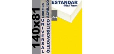 BASTIDOR ESTUDIO 46 X 17 LINO Nº1 (GRANO FINO) 140 X 81 (ÓLEO/ACRÍLICO)