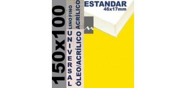 BASTIDOR ESTUDIO 46 X 17 LINO Nº1 (GRANO FINO) 150 X 100 (ÓLEO/ACRÍLICO)