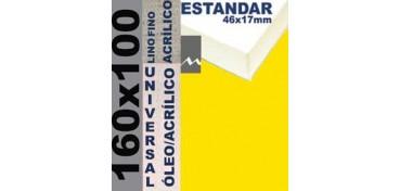 BASTIDOR ESTUDIO 46 X 17 LINO Nº1 (GRANO FINO) 160 X 100 (ÓLEO/ACRÍLICO)
