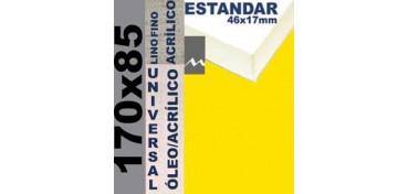 BASTIDOR ESTUDIO 46 X 17 LINO Nº1 (GRANO FINO) 170 X 85 (ÓLEO/ACRÍLICO)