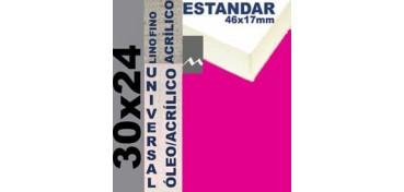 BASTIDOR ESTUDIO 46 X 17 LINO Nº1 (GRANO FINO) 30 X 24 (ÓLEO/ACRÍLICO)