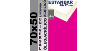 BASTIDOR ESTUDIO 46 X 17 LINO Nº1 (GRANO FINO) 70 X 50 (ÓLEO/ACRÍLICO)