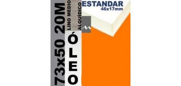 BASTIDOR ESTUDIO 46 X 17 LINO Nº3 (GRANO MEDIO) 73 X 50 20M (ÓLEO)