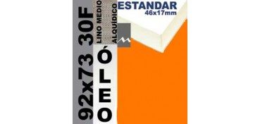 BASTIDOR ESTUDIO 46 X 17 LINO Nº3 (GRANO MEDIO) 92 X 73 30F (ÓLEO)
